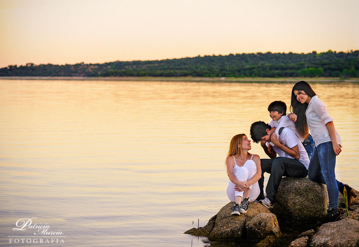 Reportaje de familia … contigo en la distancia