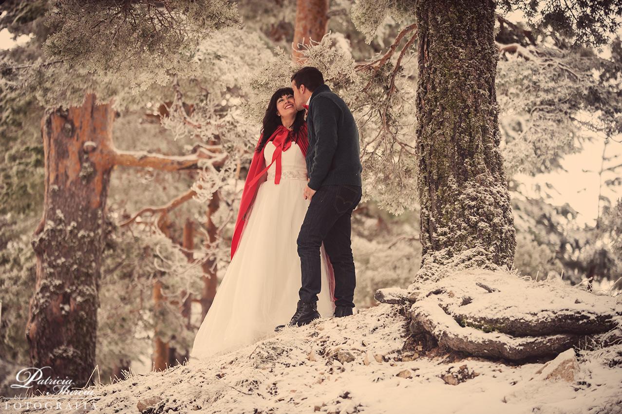 Fotografía de boda en Navacerrada