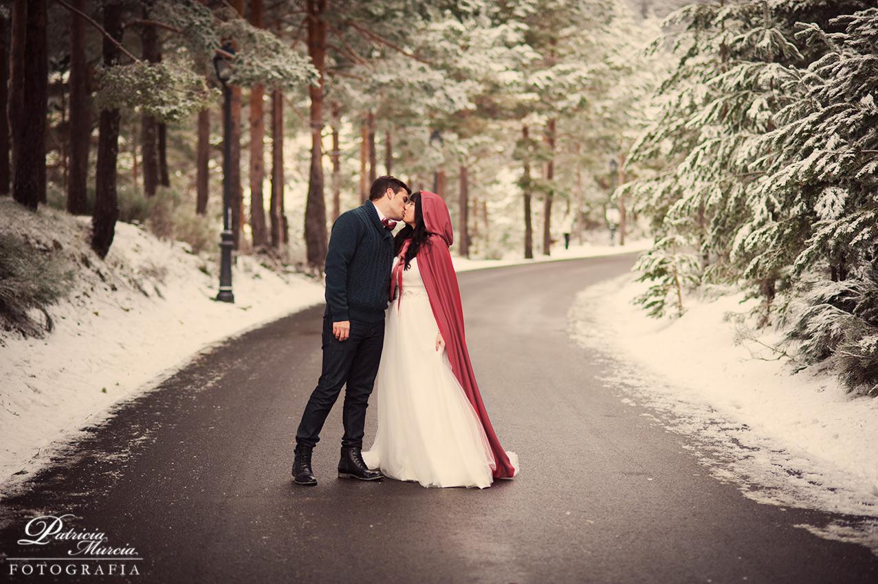 Fotografía de boda en Navacerrada en Madrid