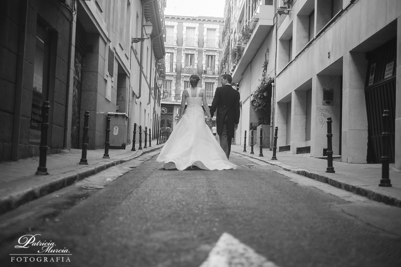 Reportaje post boda Madrid