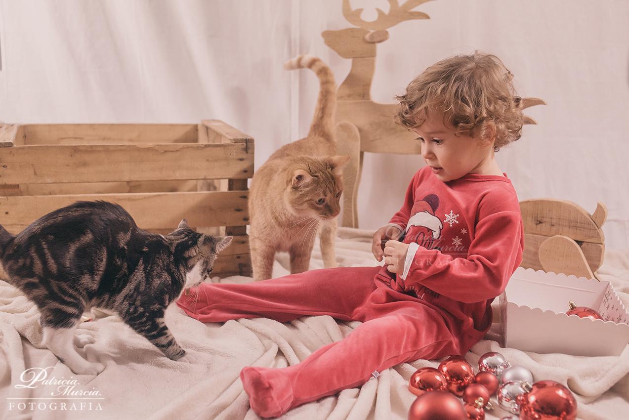 Fotos de niños en Navidad