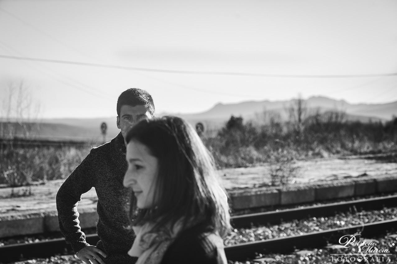 Preboda en una estacion de tren abandonada Madrid