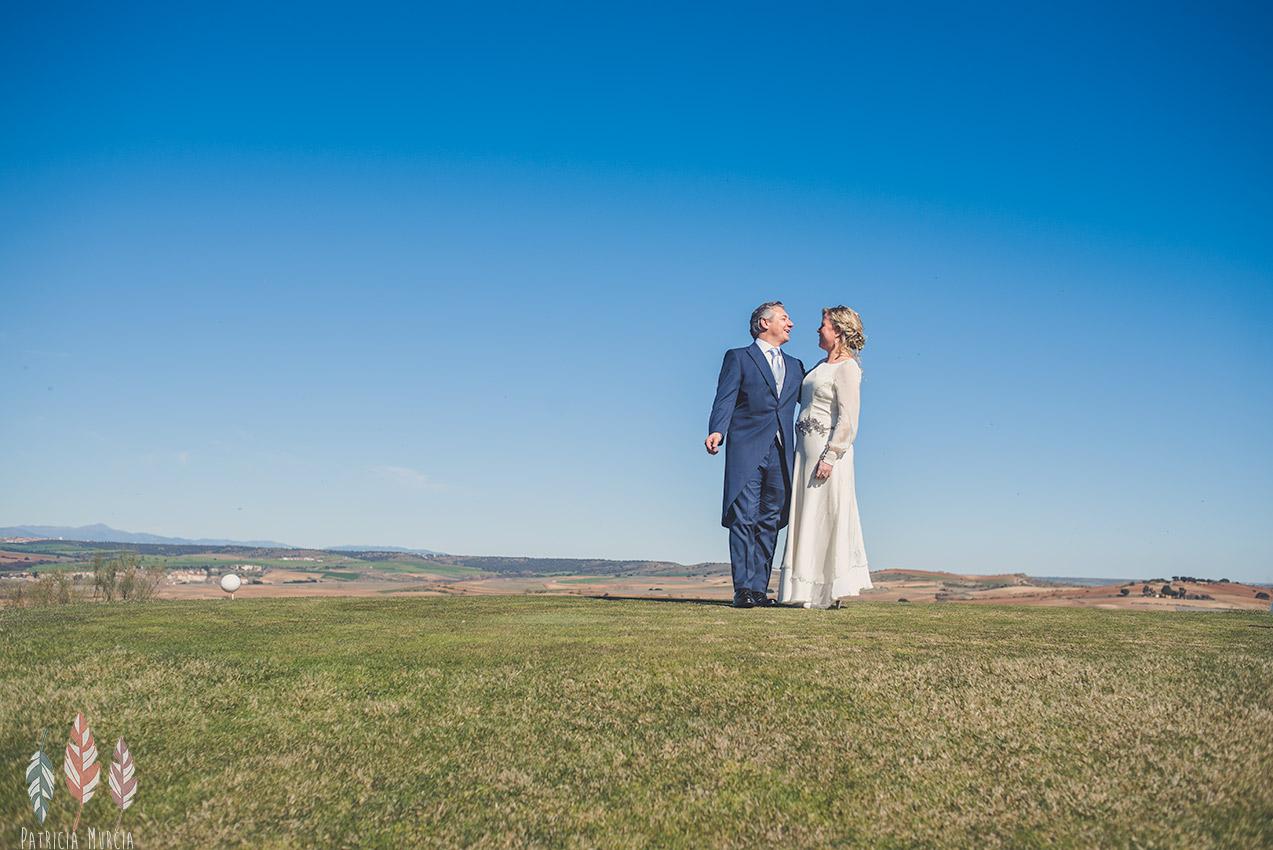 Fotos de boda en el Club de Golf Retamares PatriciaMurcia Fotografia