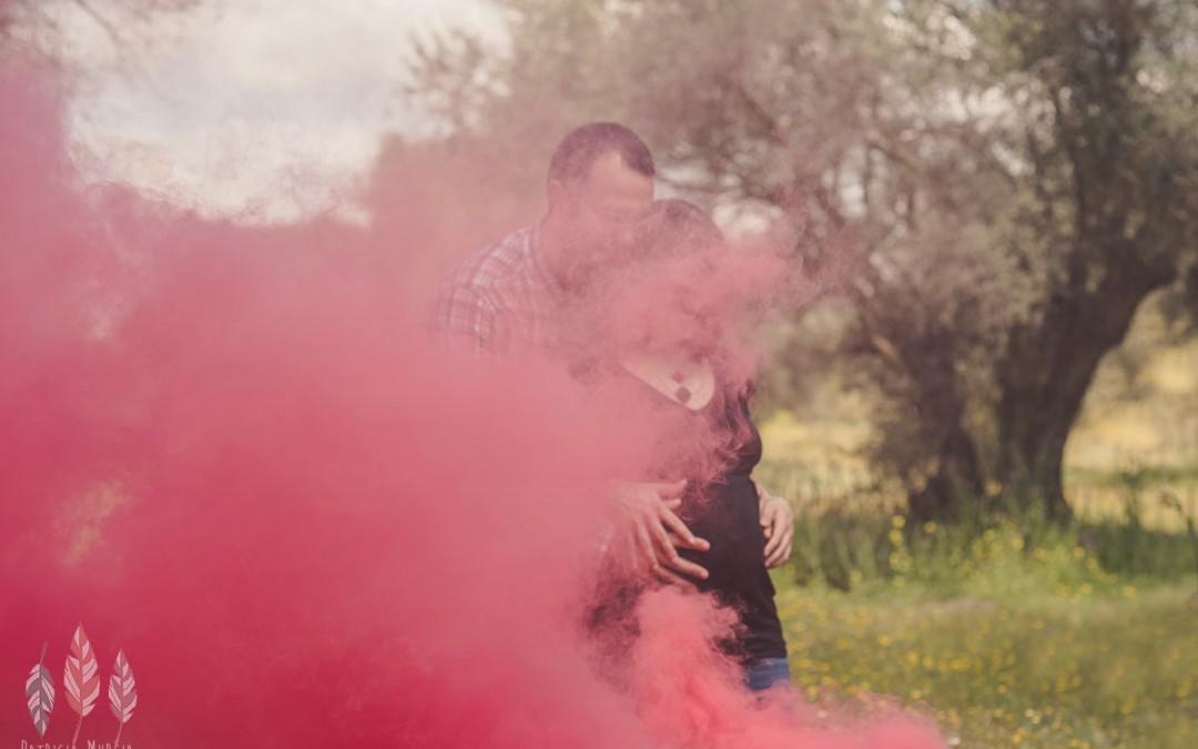 Reportaje de embarazada, 9 meses en 20 fotos