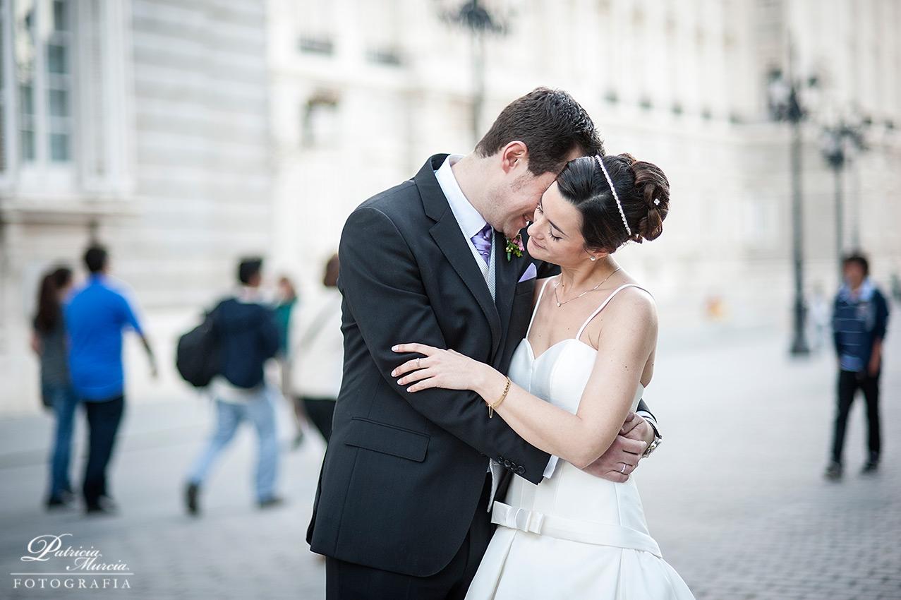 boda urbana en Madrid
